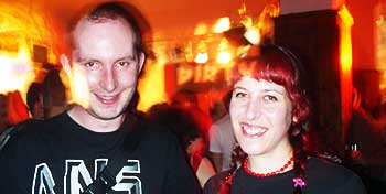 Eme and Tim @ the 'orrible Boston Arms