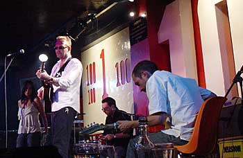 Boo Hewerdine at the 100Club