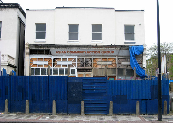 The faded architectural glamour of 322 Brixton Road, London