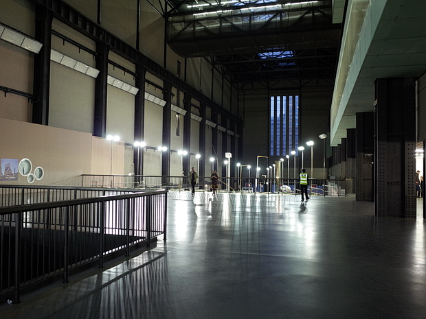 Abraham Cruzvillegas: Empty Lot. A bit like watching paint dry. Or weeds grow. Turbine Hall, Tate Modern, London