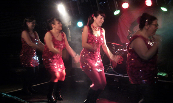 Actionettes at the Fox and Firkin, Lewisham, London