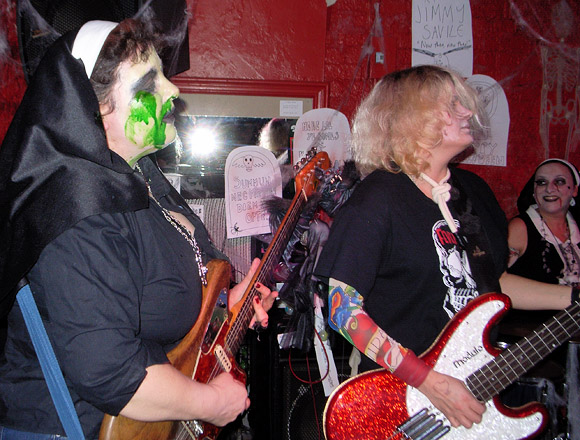Actionettes Halloween party at the Buffalo Bar, Islington with The Nuns and The Action Men, Saturday 29th October 2011