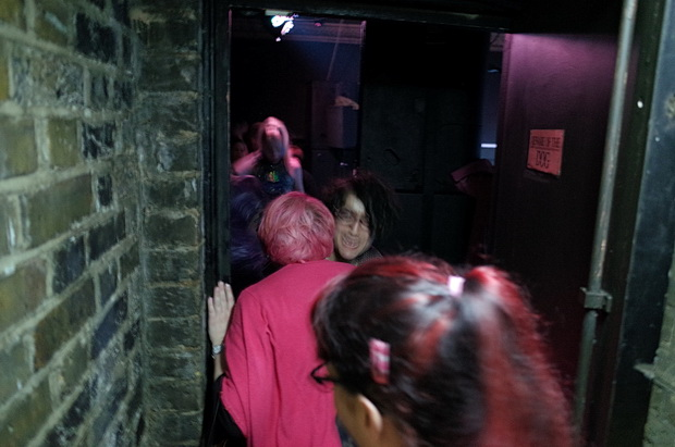 Actionettes wow the crowds at the Pink Glove Queer Pulp Disco, The Victoria, E8, Saturday 10th Oct 2015