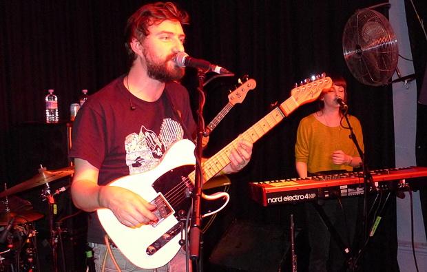 Admiral Fallow live at the Prince Albert in Brighton, November 2015