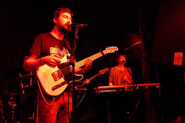 Admiral Fallow live at the Prince Albert in Brighton, November 2015
