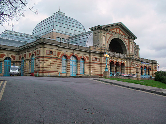 Alexandra Palace, London - winter scenes