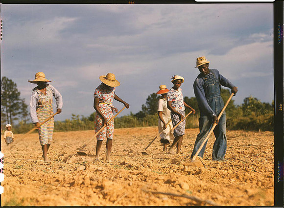 America in colour: stunning rural photos from 1939-1943