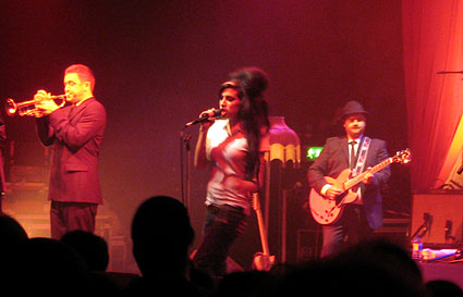 Amy Winehouse at the Astoria, London