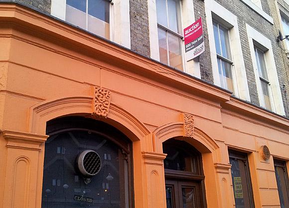 Angel Pub, Coldharbour Lane, Brixton up for auction
