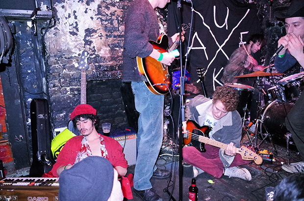Fat White Family headline the Antifolk Festival at Soho's fabulous 12 Bar venue, Saturday 16th November 2013
