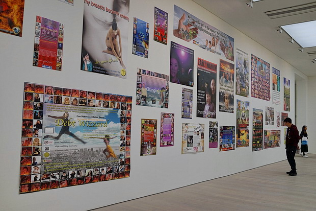 In photos: Black Mirror: Art as Social Satire at the Saatchi Gallery, London