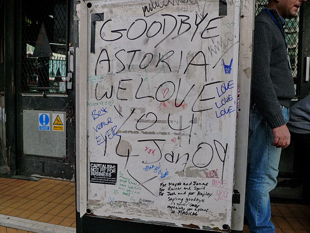 Ten Years Ago: London's Astoria Theatre closes for good, January 2009