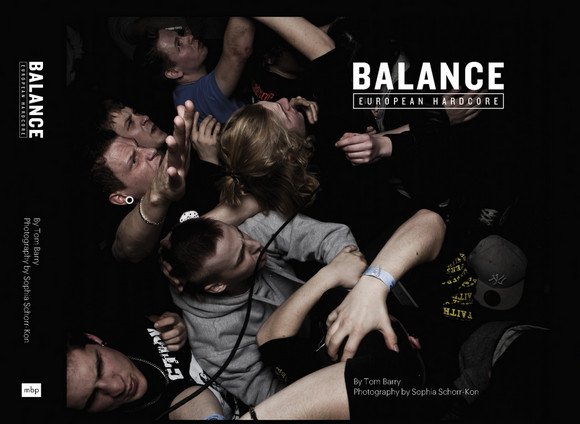BALANCE - European Hardcore, book launch at Lo and Behold, Swanfield Street, E2