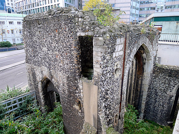 A walk through the Barbican, London