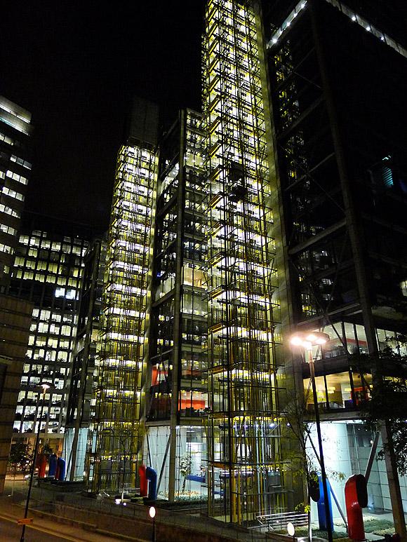 A walk through the Barbican, London