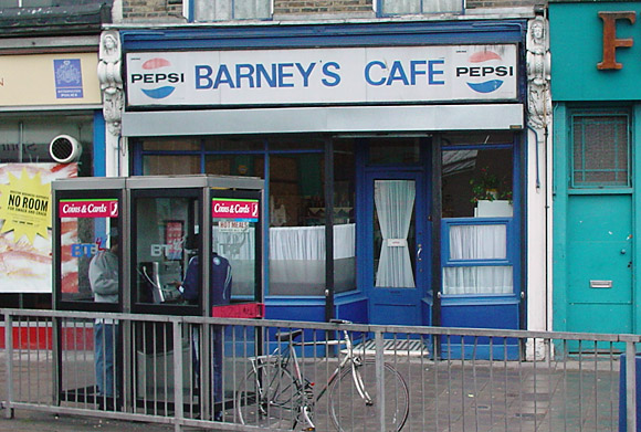Barneys Cafe, Loughborough Junction, SW9