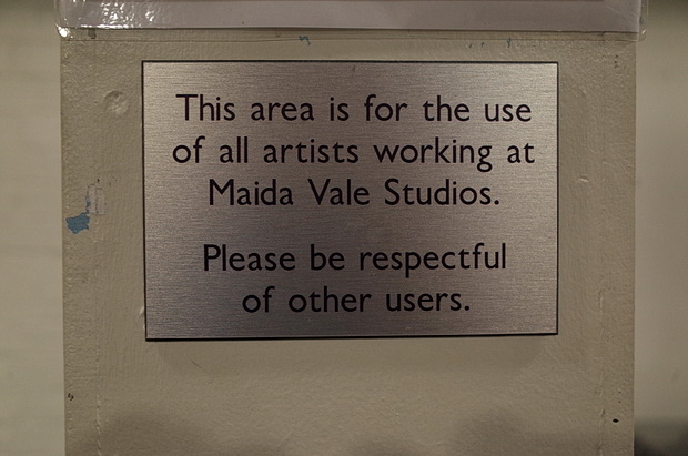 A look around BBC's Maida Vale Studio MV3, Delaware Road, London, September 2016