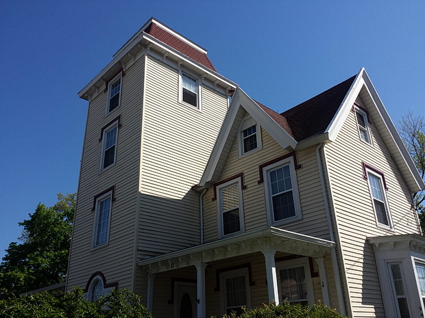The architecture and sights of Beacon, New York - a photo tour from Summer 2014
