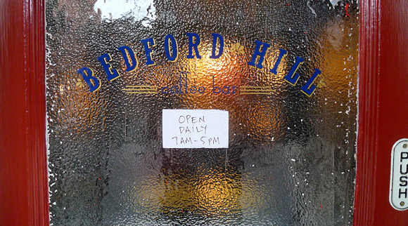 Bedford Hill Coffee Bar, Bedford-Stuyvesant, NYC