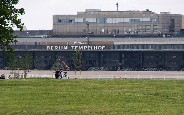 Berlin Tempelhof Airport - an abandoned international airline in the centre of Berlin
