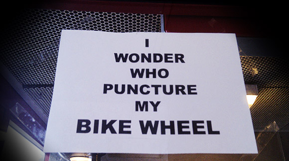 Question of the day: puncture wonder