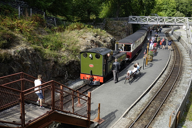In photos: Blaenau Ffestiniog and a steam trip to Tan-y-Bwlch in Snowdonia, August 2018