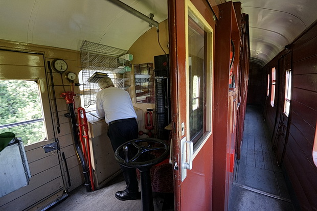 In photos: a trip along the Bluebell steam railway from East Grinstead to Sheffield Park, Sussex, England