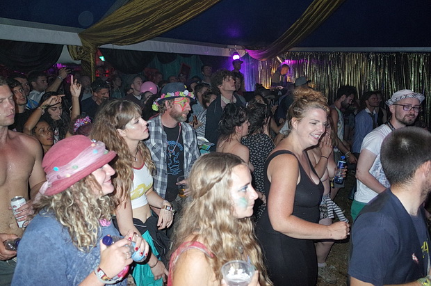 The Park Hotel at Boomtown 2016: bands, beer, pool, Eva Lazarus and ping pong debauchery, August 2016
