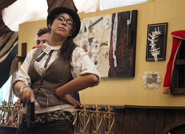 The Wild West at Boomtown: courtroom scenes, gunslingers and hoedowns, August 2016