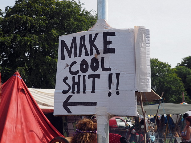 Photos of Boomtown Fair, music festival near Winchester, England, August 2014