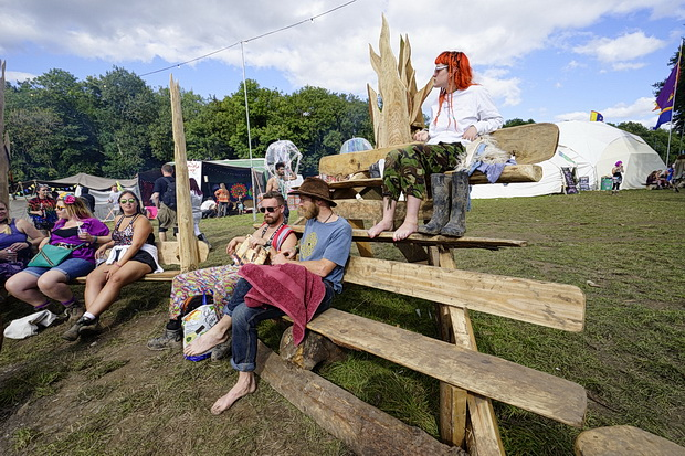 Boomtown 2017: a wander around the chilled out Whistlers Green, August 2017