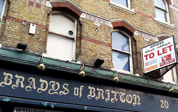 So, it's goodbye to Brady's one of Brixton's legendary boozers
