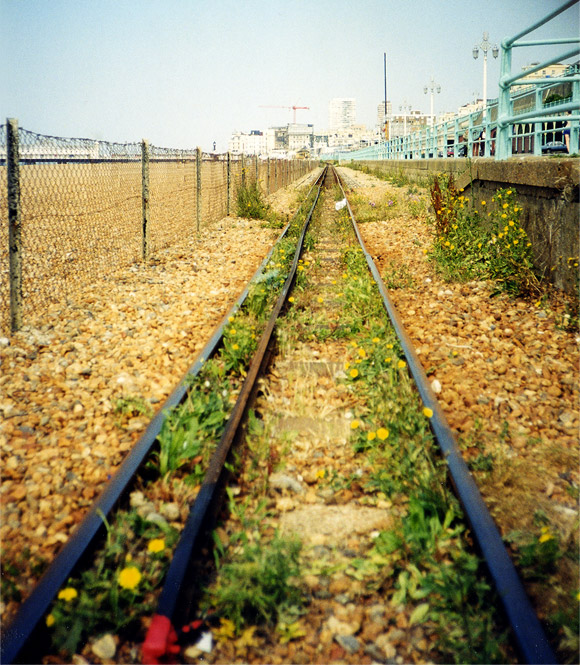 Volk's Electric railway and the fabulously eccentric Seaside Railway, Brighton