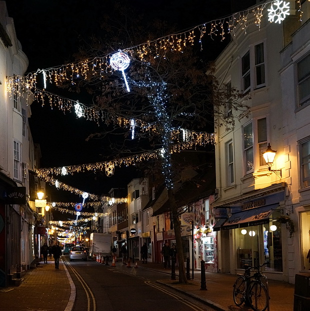 In pictures - the Christmas lights around Brighton, November 2018