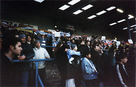 Brighton 'Fans United', Feb 1997: a proper football protest