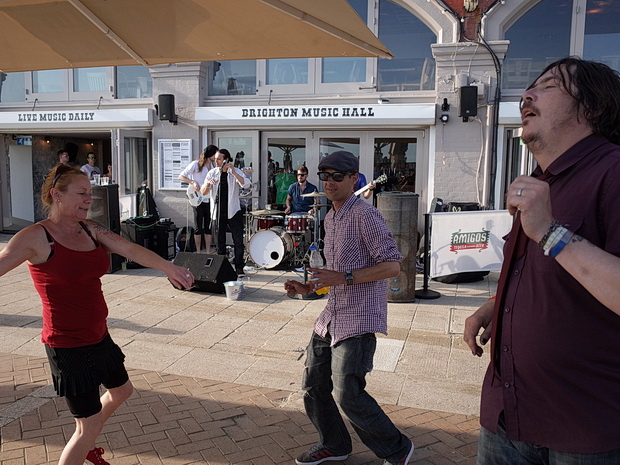 Brighton seagulls, skinheads, seaside and sun, photos taken on the south coast resort, June 2015