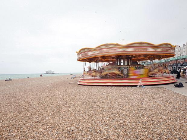 Brighton seagulls, skinheads, seaside and sun, photos taken on the south coast resort, June 2015
