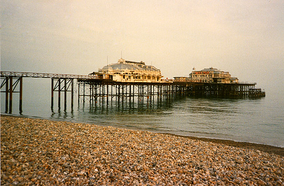 Remembering the West Pier, Brighton, Sept 2001