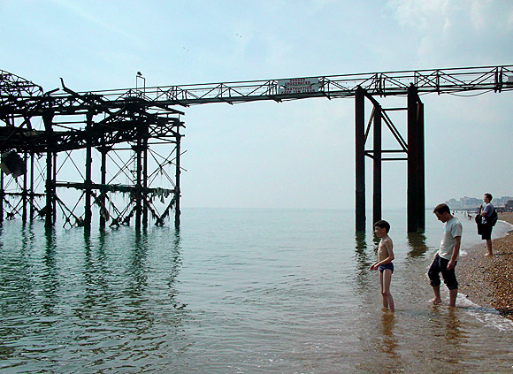 Remembering the West Pier, Brighton, May 2003 photo