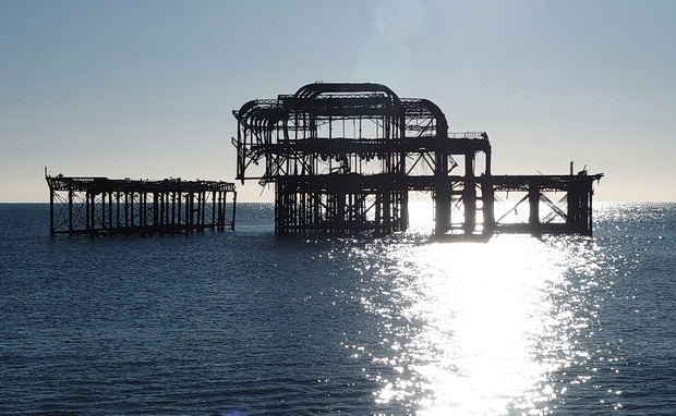 Return to Brighton West Pier, December 2014