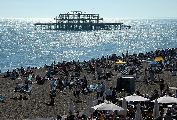 Remembering the West Pier, Brighton, June 2006 photo