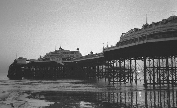 Remembering the West Pier, Brighton, December 1973