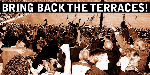 Bring back the football terraces: sign the petition