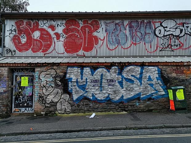 Bristol photos: street art, station, pubs and rain