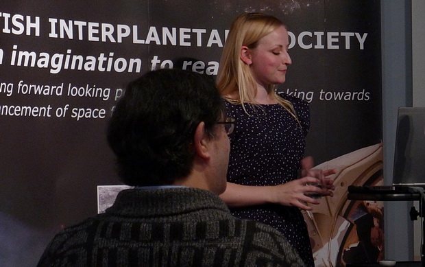 A trip to the British Interplanetary Society to learn about Mars with Abigail Hutty,  BIS, 27/29 South Lambeth Road, Vauxhall, London, SW8 1SZ, September 2014