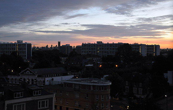 Saturday morning, Brixton, 5am