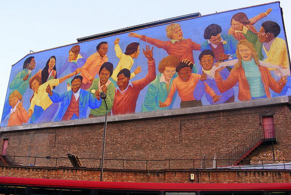 Restoration work on iconic Brixton Academy mural completed