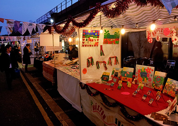 Brixton Christmas market packs them in, Saturday 10th December