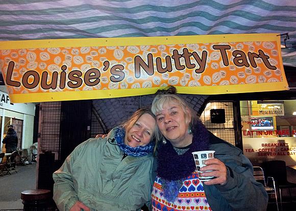Brixton Christmas market packs them in, Saturday 10th December
