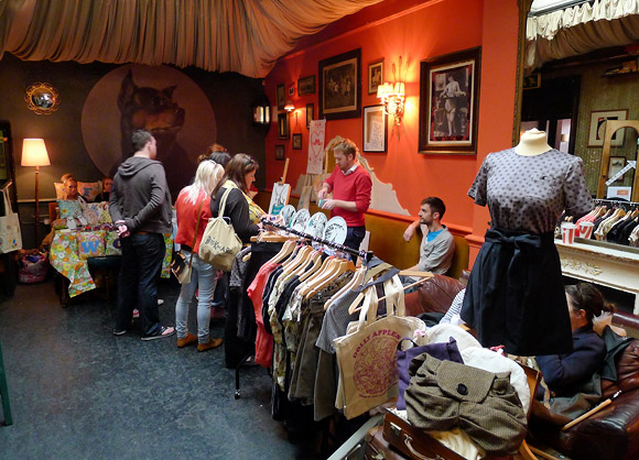 Crafty Fox Market at the Brixton Dogstar packs them in